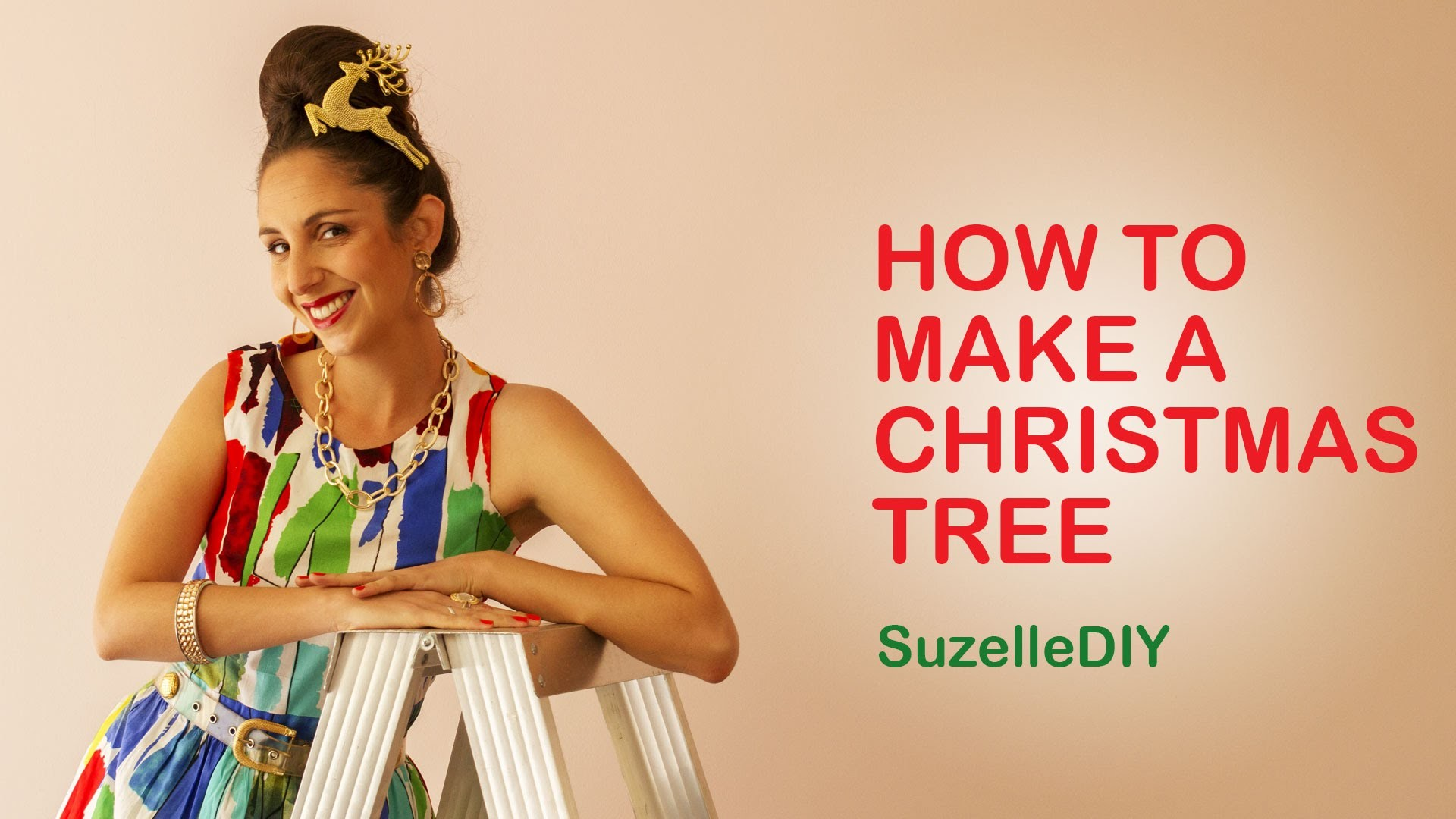 SuzelleDIY - How to Make a Christmas Tree