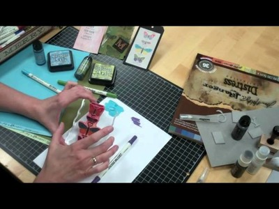 Tim Holtz Demo Weekend at Archiver's