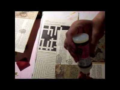 Tip for Tim Holtz Acrylic Fragments