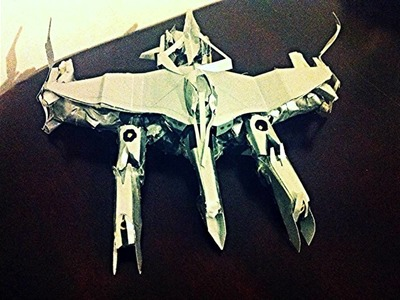 TRANSFORMERS 4,3,2,1 PAPERCRAFT MUST SEE