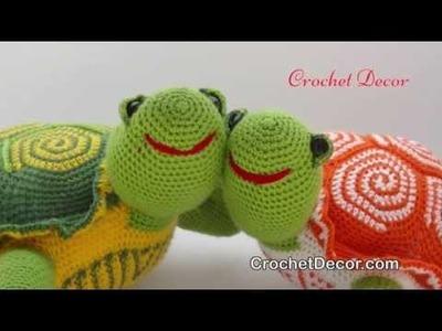 Turtle Crochet Toy Pattern - Amigurumi