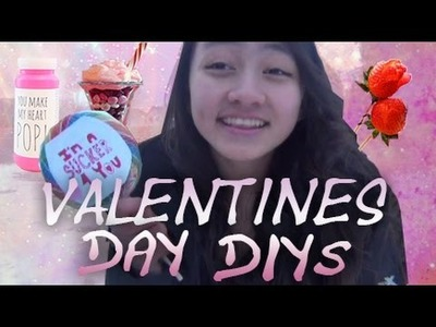 Valentines day DIY Gifts, Treats + cards│2015 ♥