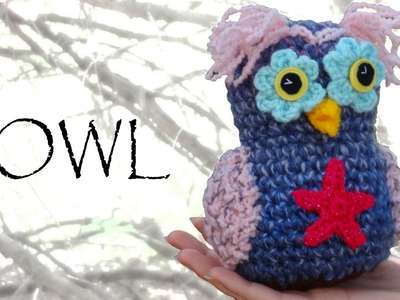 Whimsical Crochet Owl Tutorial - Crochet Along Pattern!
