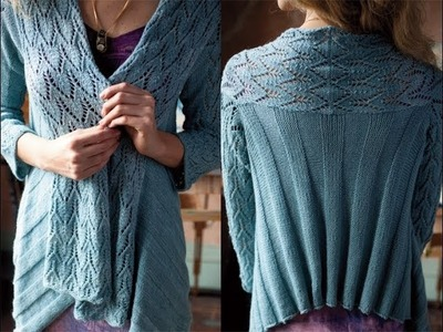 #3 Cardi Wrap, Vogue Knitting Spring.Summer 2012