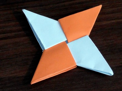 An asterisk ninja with their hands out of paper video tutorial 3D origami for beginners