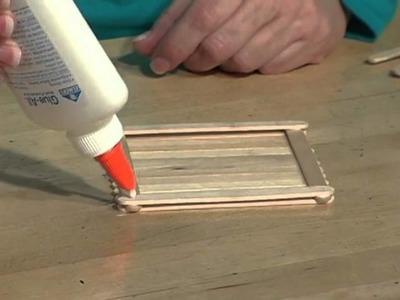 Children's Ministry Craft Techniques - Craft Stick Prayer Box