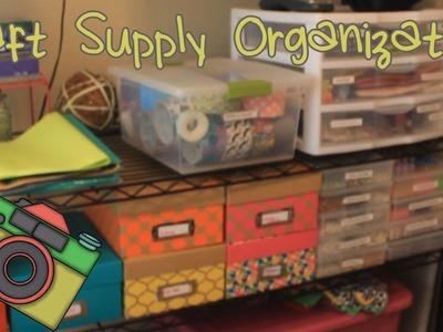 Craft Supply Tour & Storage