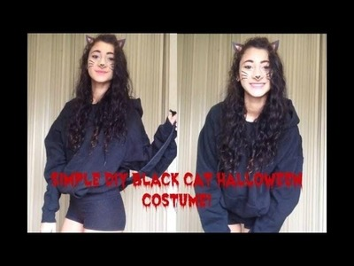 DIY Black Cat Halloween Costume!