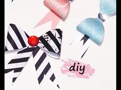 {DIY} Paper Bow