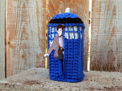 How to crochet a tardis, part one, Dr. Who
