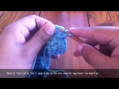 How to Crochet the Shell Stitch