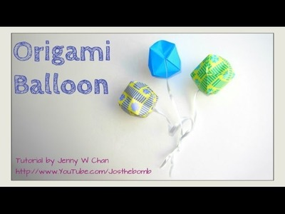 How to Fold Origami Ball. Balloon - Summer Crafts Kids - Paper Ball - Traditional Easy, Beginners