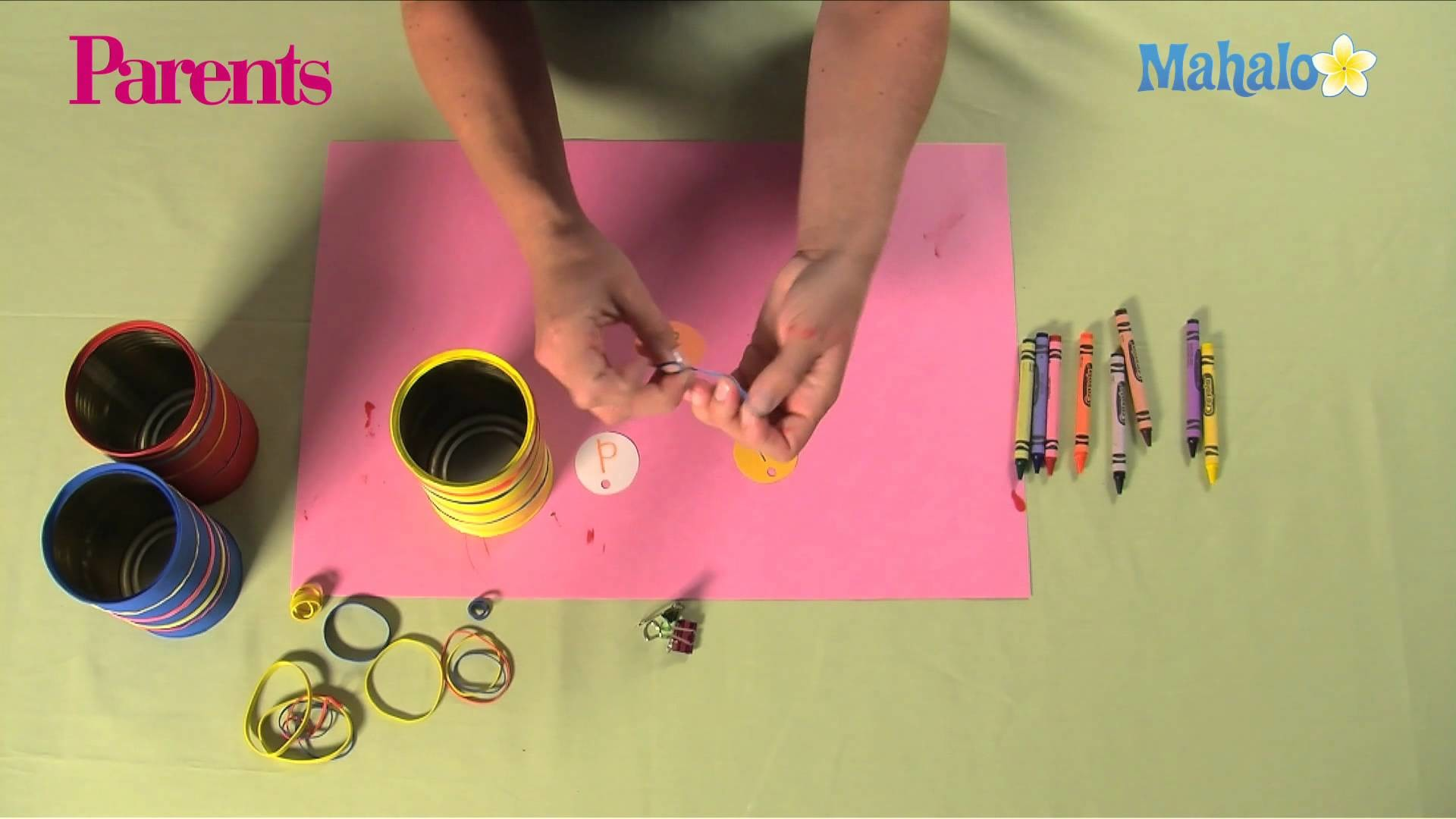 How to Make a Can Pencil Holder