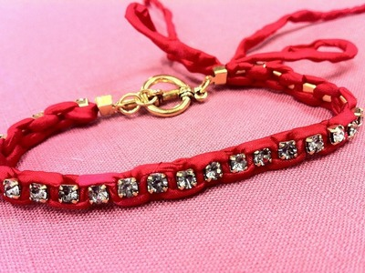 How to Make a DIY Hey Beth Rhinestone Chain Bracelet with The Bead Place