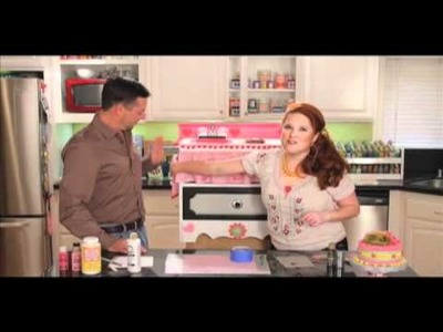 How To Make A Recycled Play Kitchen from Plaid Craft TV