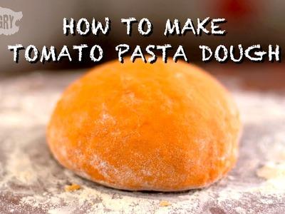 How to Make Tomato Pasta Dough