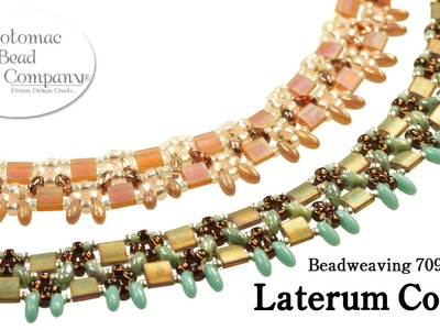 Make a Laterum Collar Necklace