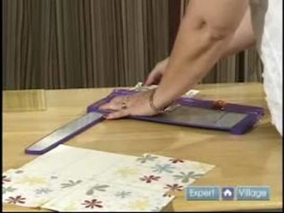 Scrapbooking for Beginners : Cutting Focus Paper for Your Scrapbook