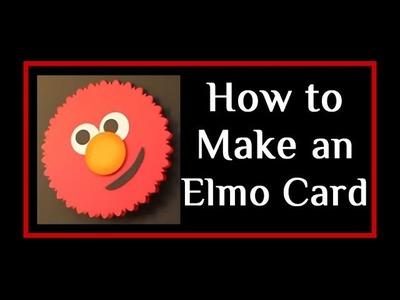 Sesame Street Elmo Card