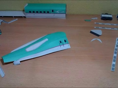 Shinkansen E5 Papercraft