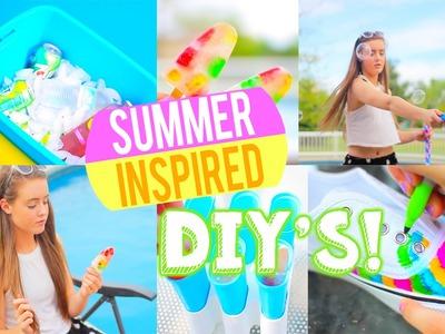 Summer Inspired DIYS! | Breezylynn08