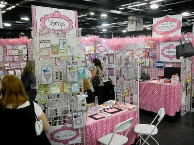 The Stamps of Life at Scrapbook Expo in Grapevine, Texas!