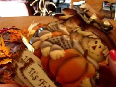 Thrift Haul ~ Fall & Halloween, Decorations & Crafts & DANSKO Boots!