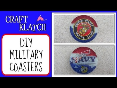 DIY Military Coasters   Another Coaster Friday Craft Klatch