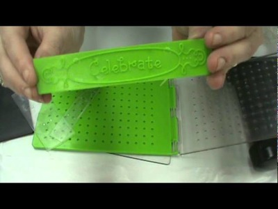 How Scrapbooking Made Simple uses the Sizzix Big Shot &  All-In-One Cuttlebug Embossing Plates