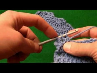 How To Crochet 2  Together Decrease-Left Handed