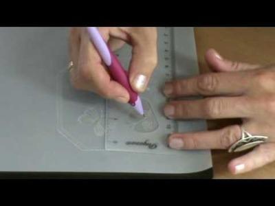 Instruction video part 2 Basic Technique EMBOSSING (I)