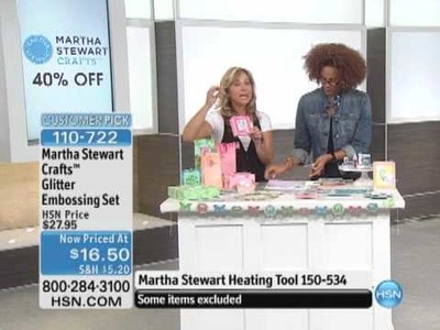 Martha Stewart Crafts Glitter Embossing Set