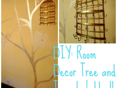 Room DIY: Wall tree decor