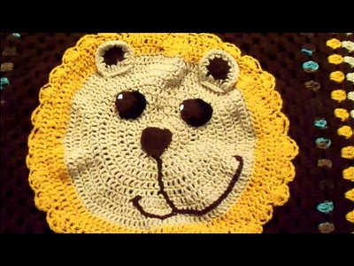Crochet Show & Tell - Gentle Lion Baby Blanket