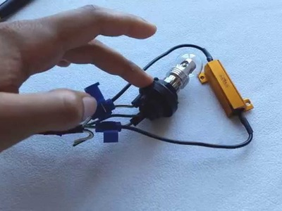 DIY - How to Install LED Blinker. Turn Signal Resistors  - Enlight Tutorial