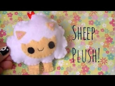 ❤ [DIY] Kawaii Sheep Plush Tutorial [How-to] ❤