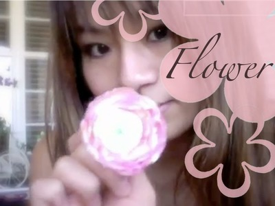 DIY: MeiIris' Lollipop Flowers Part 1 Tutorial