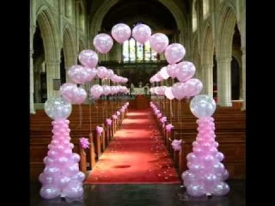DIY Wedding balloon decorating ideas