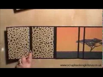 Flip Style Scrapbook Mini Album