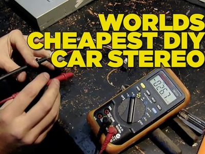 Mighty Car Mods - Worlds Cheapest DIY Car Stereo