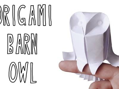 Origami Barn Owl (Riccardo Foschi)