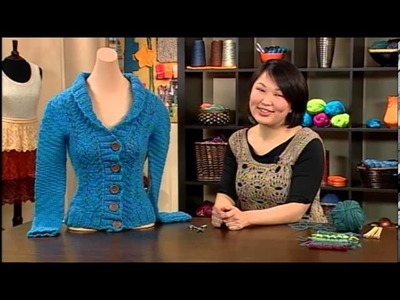 Preview Knitting Daily TV Episode 1113 - Through Thick and Thin