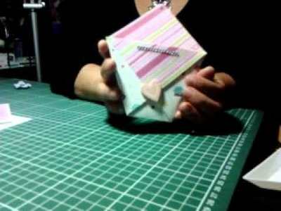 "Video tutorial "" Bustina origami"""