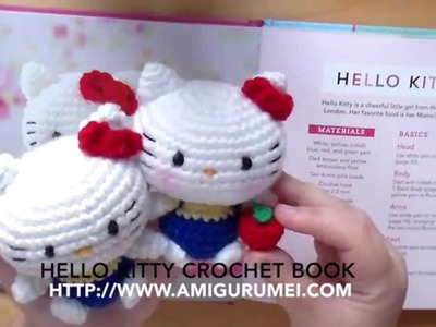 #1 Review libro Hello kitty crochet