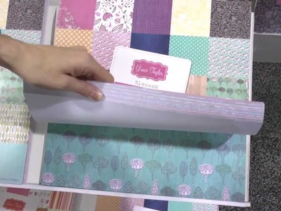 CHA 2012 - Grant Studios Is a Newer Scrapbook Supply Company to Watch For