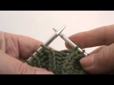 Continental Knitting Lesson #26 - FISHERMAN'S RIB