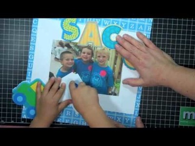 Crafting with Kids ~ Best Buds Scrapbook Page ~ #162