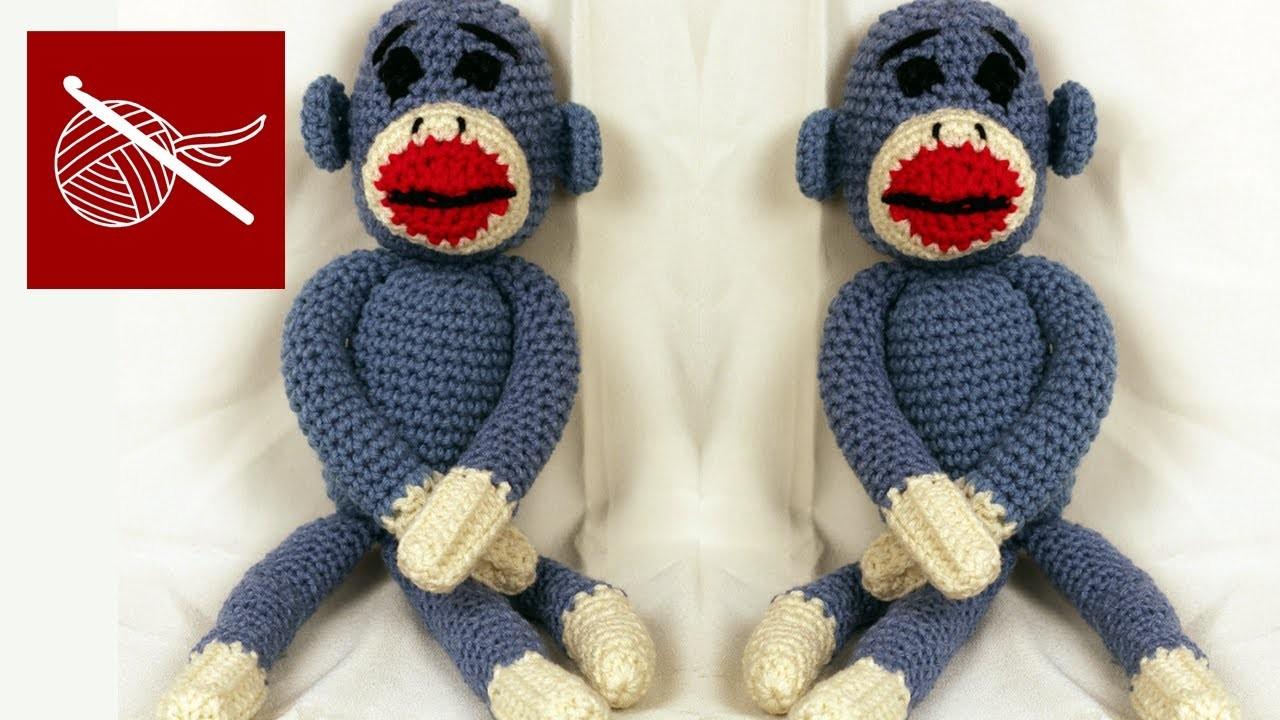 Crochet Amigurumi Sock Monkey