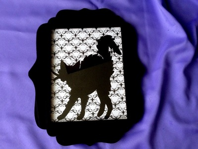 DIY Halloween Decorations :Spooky Silhouette