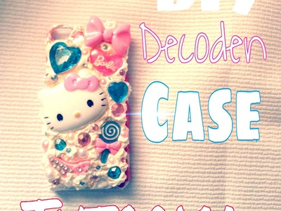 DIY: How to Decoden iPod 5 Case Tutorial